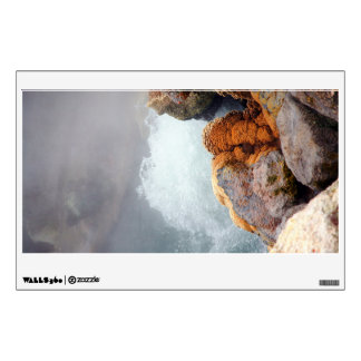Boiling hot spring room decal