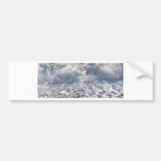 Boiling sea (Sennen beach nr Lands End) Bumper Sticker