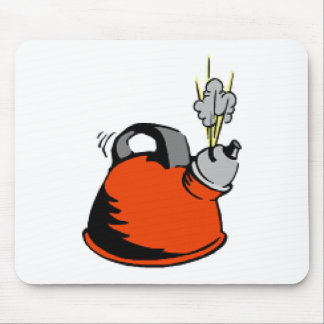 Boiling Teakettle Mouse Pad