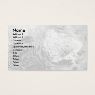 Boiling thermal water business card