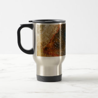 BOILING WATER IN A VOLCANIC POOL TRAVEL MUG