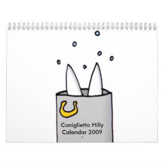 boilinghilly, Coniglietto HillyCalendar 2009 Calendarios De Pared