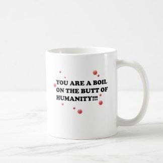 Boils Classic White Coffee Mug