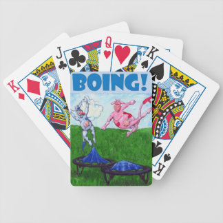Boing! Bicycle Playing Cards