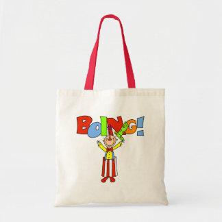 Boing Clown Tote Bag