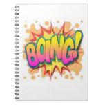 ¡Boing! Libros De Apuntes Con Espiral