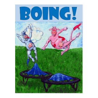 Boing! Postcard