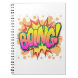 Boing! Spiral Notebooks