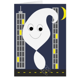Boingy Ghost Card