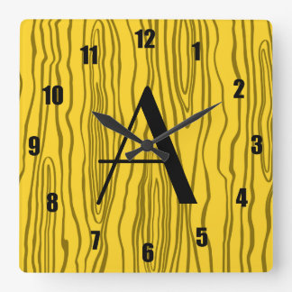 Bois amarillos del monograma falsos relojes