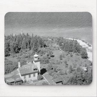Bois Blanc Lighthouse Mouse Pad
