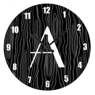 Bois negros del monograma falsos relojes