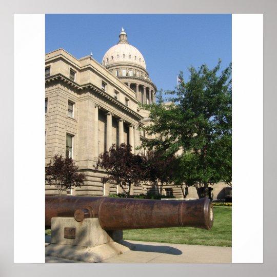 Boise Capitol building Poster