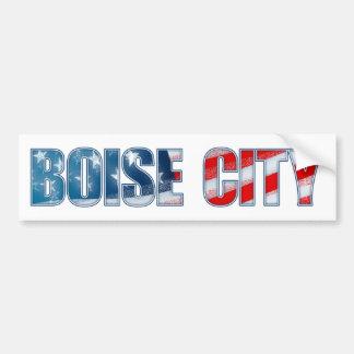 Boise City Bumper Sticker