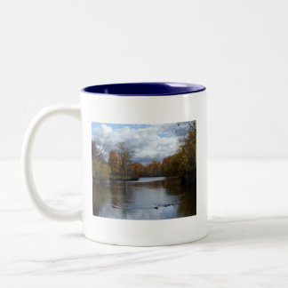 Boise Fall Two-Tone Coffee Mug