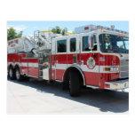 Boise Fire Department Truck 6 Postcard