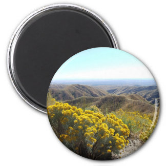 Boise Foothills 2 Inch Round Magnet