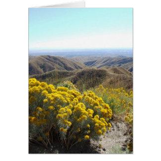 Boise Foothills Card