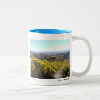 Boise Foothills Two-Tone Coffee Mug