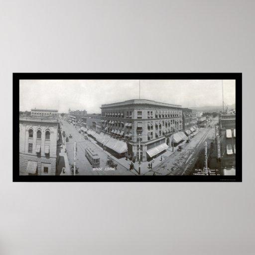 Boise, foto 1909 de la identificación posters