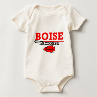 Boise High Girls Lacrosse Baby Bodysuit
