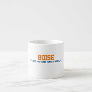 Boise, ID Espresso Cup