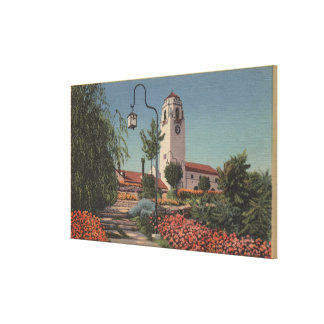 Boise, ID - View of Union Pacific Canvas Print