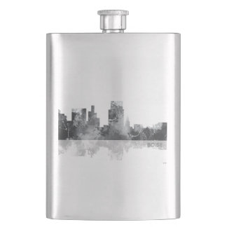 BOISE IDAHO SKYLINE - Drinks flask