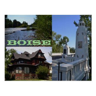Boise postcard