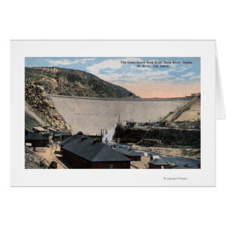 Boise River and Great Arrow Rock Dam Card