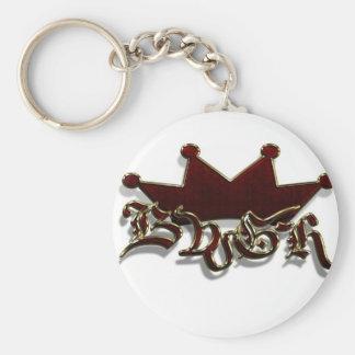 Boise We Go Hard key chain
