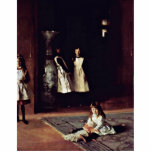 Boit Daughters By Sargent John Singer Cut Outs