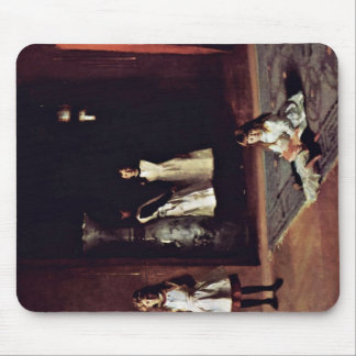 Boit Daughters By Sargent John Singer Mouse Pad