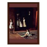 Boit Daughters By Sargent John Singer Postcards