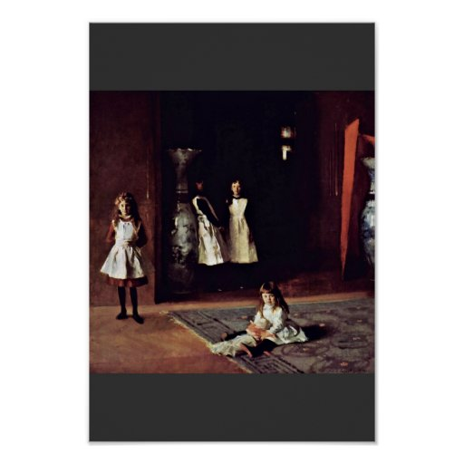 Boit Daughters By Sargent John Singer Print