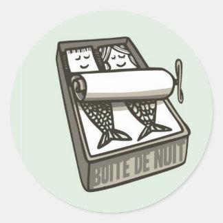 Boite Classic Round Sticker
