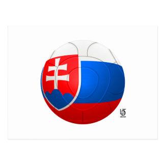Bojovni Jondovci - Slovakia  Football Postcard