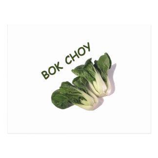 bok choy postcard