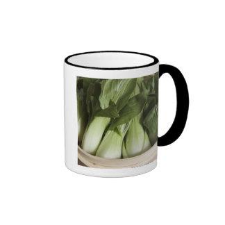 Bok choy ringer mug