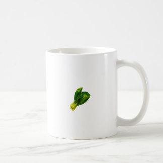 bok choy tazas de café
