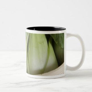 Bok choy Two-Tone coffee mug