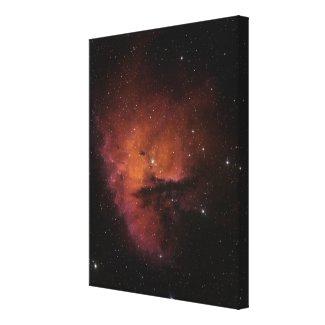 Bok Globules in NGC 281 Canvas Print