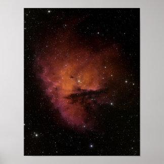 Bok Globules in NGC 281 Poster