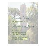 "Bok Tower Wedding 5"" X 7"" Invitation Card"