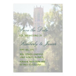 Bok Tower Wedding 5x7 Paper Invitation Card