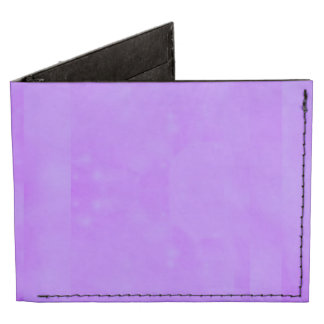 Bokeh 02 soft  lilac billfold wallet