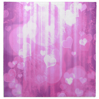 Bokeh 04 corazones pica i servilleta imprimida