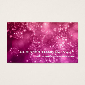 Bokeh 16 (Music or DJ) Business Cards