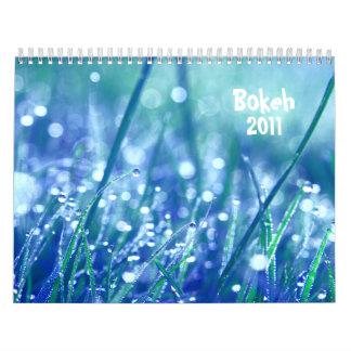 Bokeh 2011 calendar