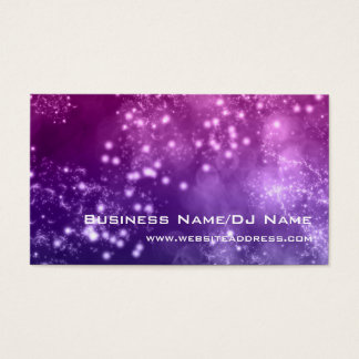 Bokeh 8 (Music or DJ) Business Cards